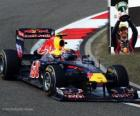 Mark Webber - Red Bull - Shanghai, China Grand Prix (2011) (3rd place)