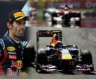 Mark Webber - Red Bull - Istanbul, Turkey Grand Prix (2011) (2nd place)