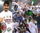 AC Milan, Italian Football League champion - Lega Calcio 2010-11