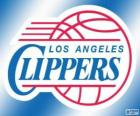 Logo Los Angeles Clippers, NBA team. Pacific Division, Western Conference