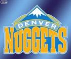Logo Denver Nuggets, NBA team. Northwest Division, Western Conference