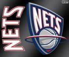 Logo New Jersey Nets, NBA team. Atlantic Division, Eastern Conference