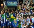 FC Porto, champion of the UEFA Europa League 2010-2011