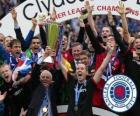 Rangers FC, Glasgow Rangers, champion of the Scottish Football League 2010-2011