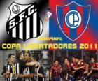 Santos FC - Cerro Porteño. Semifinal Copa Libertadores 2011