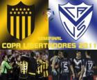 Peñarol Montevideo - Velez Sarsfield. Semifinal Copa Libertadores 2011