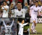 Cristiano Ronaldo, top scorer in the history of the League Spanish 2010-2011