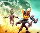 Ratchet and Clank robot