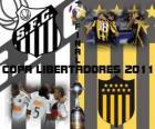 Santos FC - Peñarol Montevideo. Final Copa Libertadores 2011