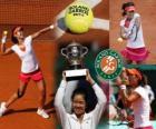 Na Li Roland Garros 2011 Champion