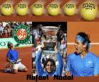 Roland Garros champion Rafael Nadal 2011