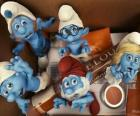 The Smurfs scared inside a box - The Smurfs Movie -