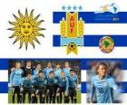 Selection of Uruguay, Group C, Argentina 2011