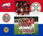 Selection of Paraguay, Group B, Argentina 2011