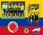 Selection of Colombia, Group A, Argentina 2011