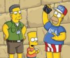 Simpson family visit Jerusalem