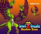 Archaeopteryx. Invizimals Shadow Zone. An aggressive flying dinosaur, the mother of all birds