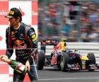 Mark Webber - Red Bull - Silverstone Grand Prix of Great Britain (2011) (3rd place)