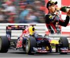 Sebastian Vettel - Red Bull - Silverstone Grand Prix of Great Britain (2011) (2nd Place)