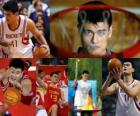 Yao Ming retires from professional basketball (2011)