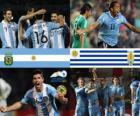 Argentina - Uruguay, quarterfinals, Argentina 2011