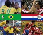 Brazil - Paraguay, quarterfinals, Argentina 2011
