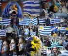 Fans of Uruguay, Argentina 2011