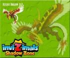 Desert Dragon. Invizimals Shadow Zone. This powerful Dragon controls the sun and lives in the caves of the Gobi Desert
