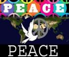 International Day of Peace. World Peace Day. September 21 is dedicated to peace and the absence of war