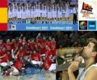 Spain, Champions EuroBasket 2011