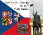 Czech National Day. September 28, St. Wenceslas, patron of the Czech Republic