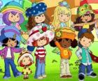Strawberry Shortcake with your friends