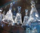 Glass Christmas bells