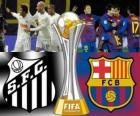 Santos FC - FC Barcelona. Final FIFA Club World Cup Japan 2011