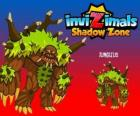 Jungleus. Invizimals Shadow Zone. Guardian Spirit of the forest