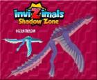 Ocean Dragon. Invizimals Shadow Zone. Ocean dragon that lives under salt water