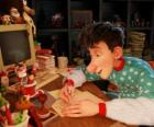 Arthur Christmas, responsible for answering letters from all the world's children