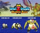 Xiong Mao Cub, Xiong Mao Scout, Xiong Mao Max. Invizimals Shadow Zone. This giant creature is the first guardian of the tomb of the Dragon Emperor