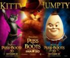 Poster of the film Puss in Boots