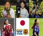 FIFA Women's World Player of the Year 2011 winner Homare Sawa