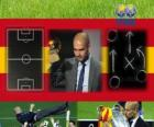 Coach of the Year FIFA 2011 for Men's football winner Pep Guardiola