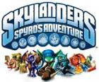 Logo of the video game from Spyro the Dragon, Skylanders: Spyro's Adventure