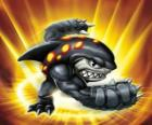 Skylander Terrafin, the boxing champion. Land Skylanders