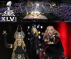 Madonna in the Super Bowl 2012