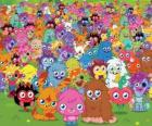 All the monsters from Moshi Monsters