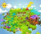 The world of Moshi Monsters