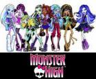 The girls from Monster High