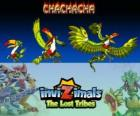 Chachacha. Invizimals The Lost Tribes. Animals who likes parties, dancing and having fun
