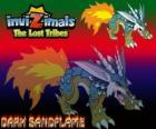 Dark Sandflame. Invizimals The Lost Tribes. Small Invizimals with great strength, never get tired of fighting