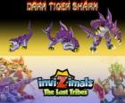 Dark Tiger Shark, latest evolution. Invizimals The Lost Tribes. The dark side of the master of the Invizimals is not an evil creature